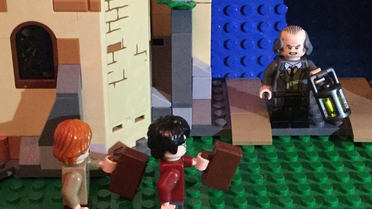 Lego Harry Potter And The Whomping Willow Stop Motion Film Youtube Lego Harry Potter Stop Motion Harry Potter Face