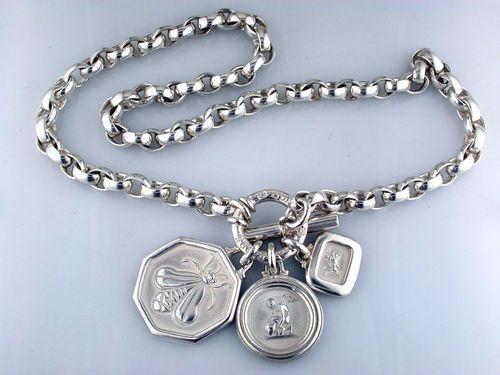 71dcf2bd02273 slane & slane 3 charm necklace | jewelry | Jewelry, Jewelry ...