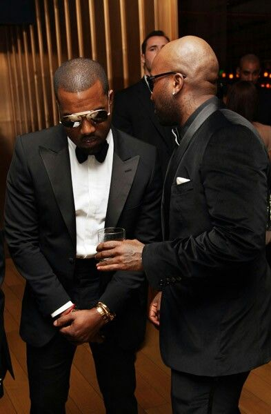 Yeezy Jeezy Kanye West And Young Jeezy In Tuxedos Young Jeezy Mens Fashion Classic Italian Outfits
