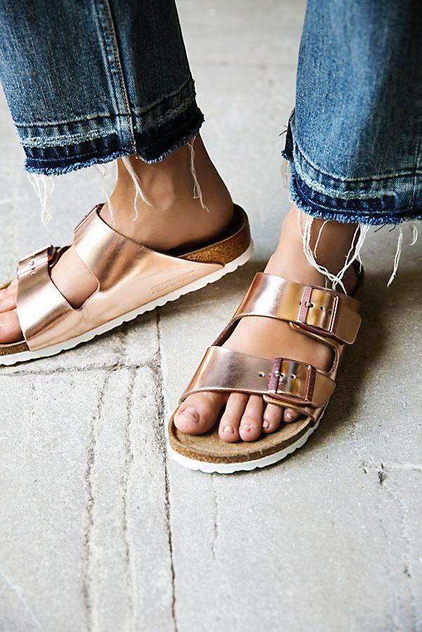 pretty nice 07369 42ecc Arizona Metallic Birkenstock Sandal | moda nel 2019 | Scarpe ...
