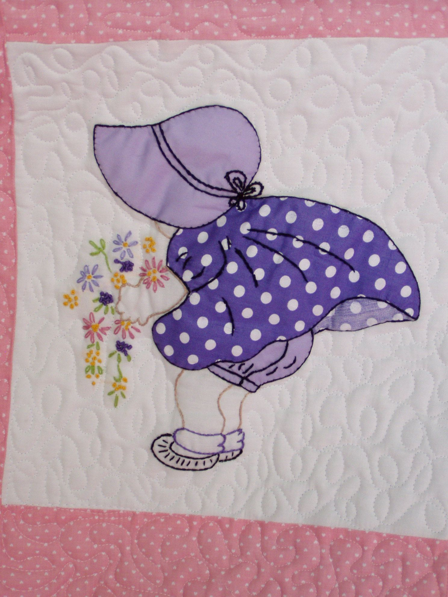 Sun Bonnet Sue Quilt Patterns Free Bing Images Girl