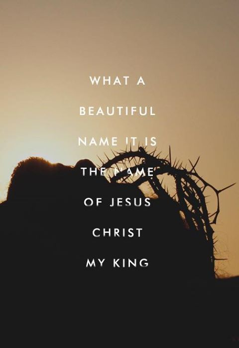 Image result for what a beautiful Name it is