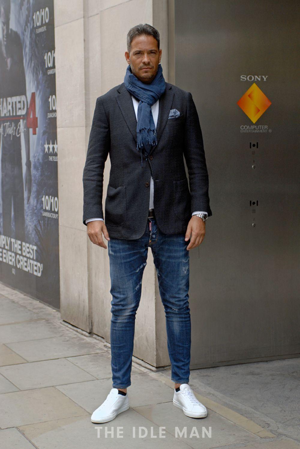 Men's Street Style - Wrap It Up