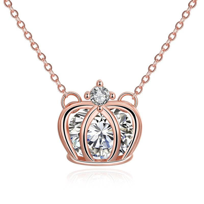 jewelry b lyst pink pendant monica normal in product rose metallic gold alphabet vinader diamond plated