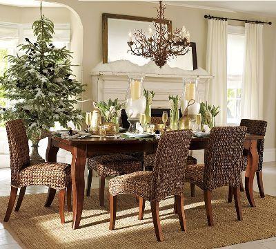 Vanilladecor: świątecznie ... Love the table!