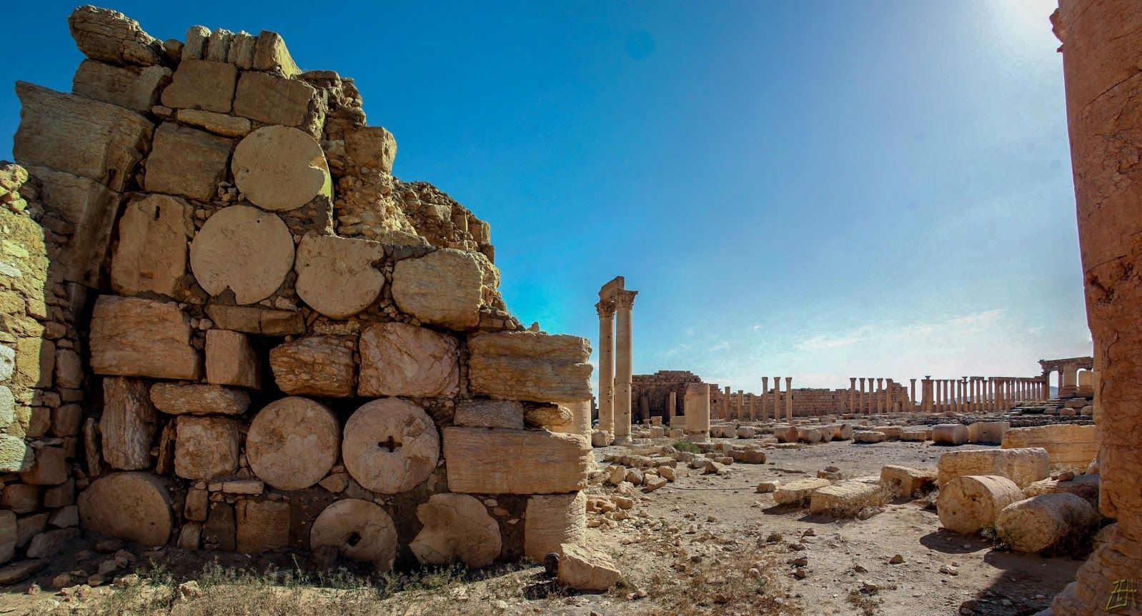 #Palmyra #Syria (photo by Zaid El-Hoiydi)