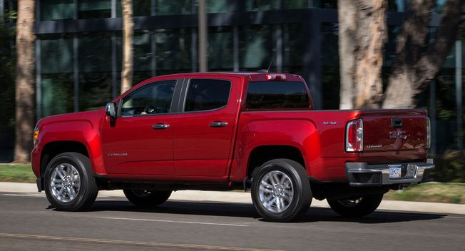 Gmc Canyon Gets Diesel Engine 7 700 Lb Tow Rating Gmc Canyon