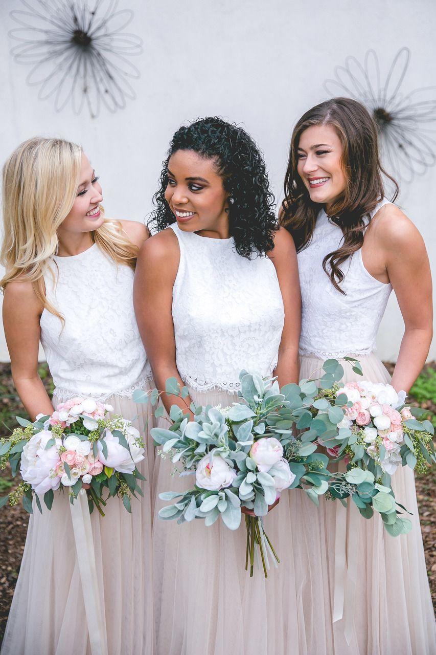 Tulle Skirt Bridesmaid   Skylar Tulle Skirt Wedding Pinterest Bridesmaid Dresses