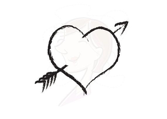 Rustic Heart Clip Art Digital Clipart Panda Free Clipart Images How To Draw Hands Hand Drawn Arrows Clip Art