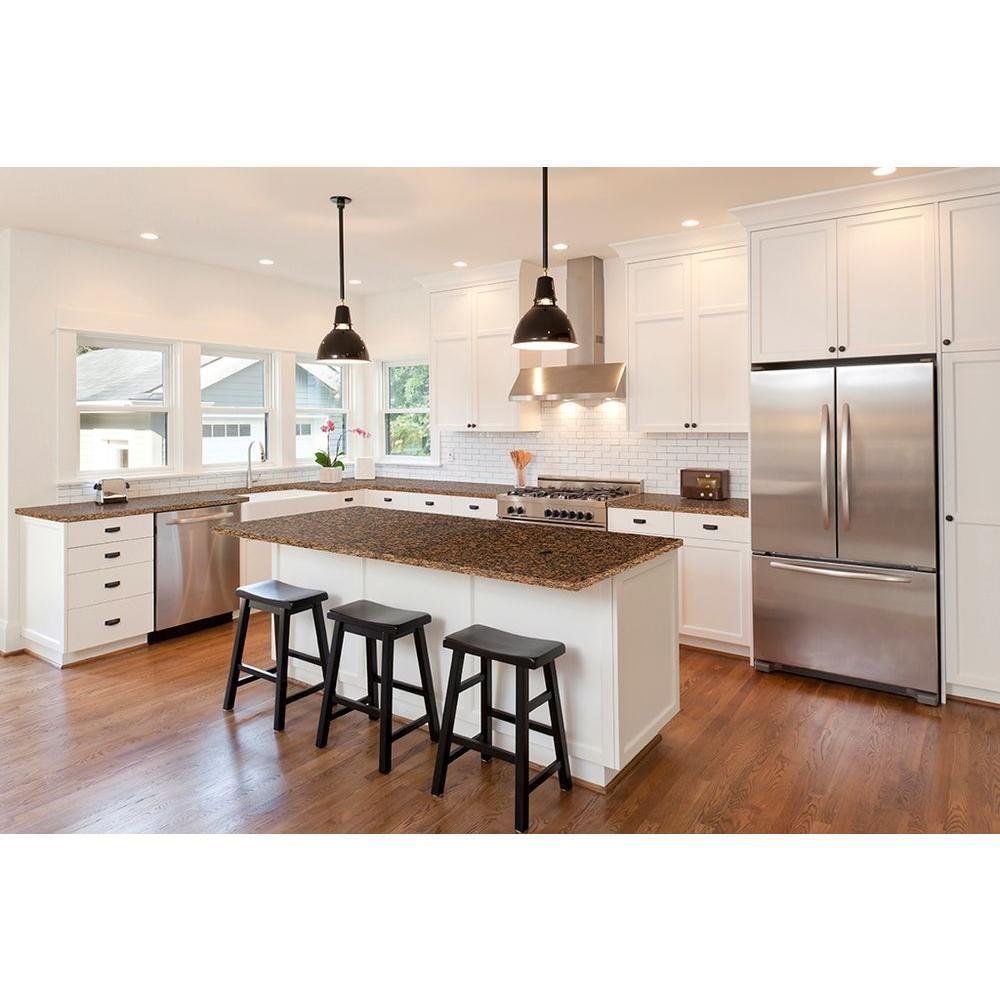 Granite countertop kitchen makeover brown stonemark