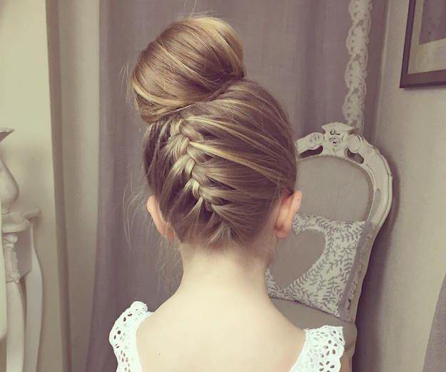upside braided bun 7 prettiest