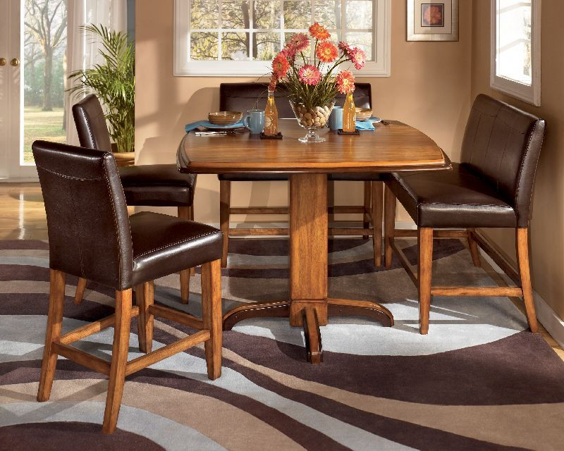 Ashley Urbandale Two Tone Counter Height Table D193 13 Dining Room Sets Kitchen Table Settings Kitchen Table Decor
