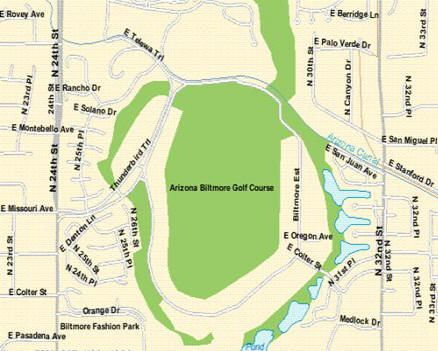 Map of Biltmore in Phoenix, AZ #DowntownHistoricPhoenix ...