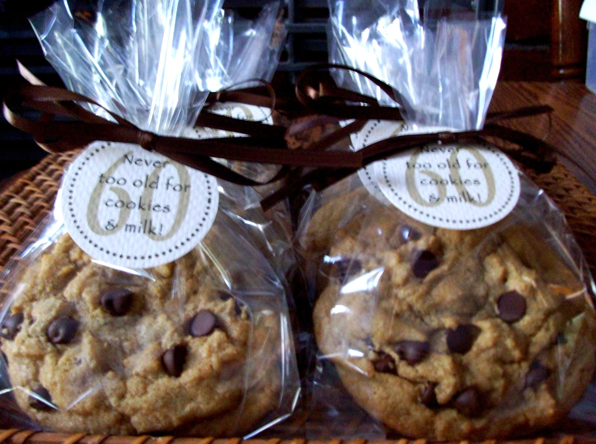 Cookie Tag Favors | Cookie party favors, Cookie wedding favors, 60th  birthday favors