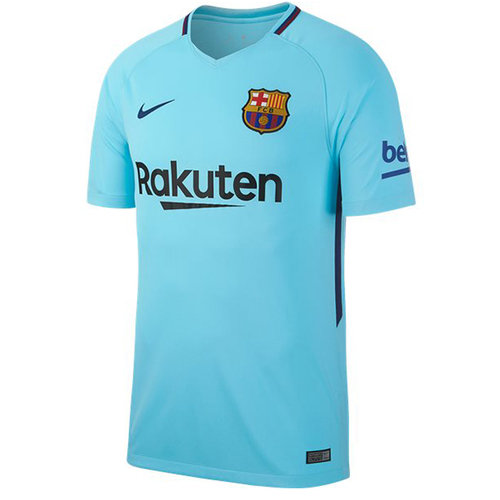 fafec2cc8b1 Men s Nike Breathe FC Barcelona Stadium Jersey in away colors brings team  details