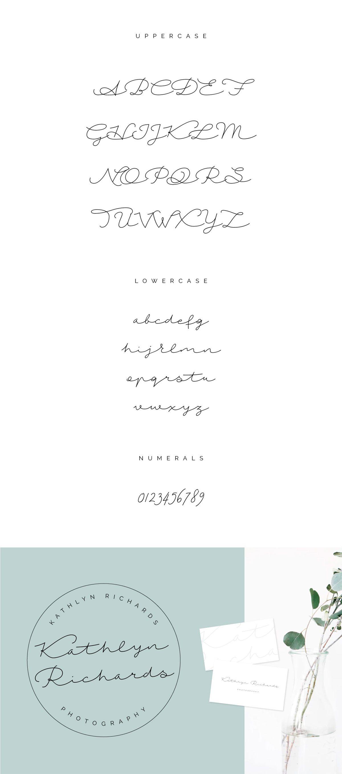 Free Autumn Chant Handwritten Script Font |   Fonts | Handwritten