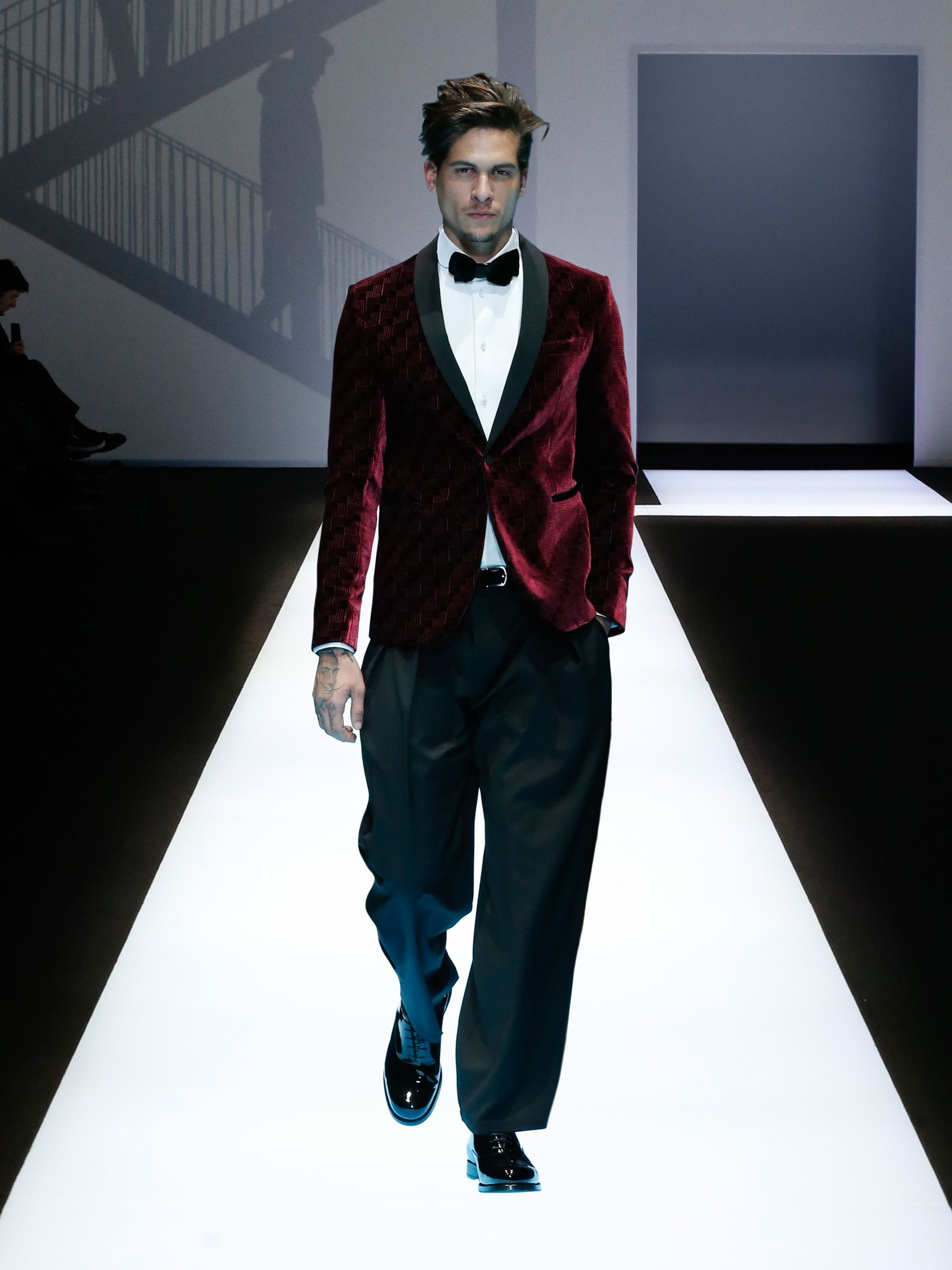 The Aesthetic And Practical Changes In Menswear Define Emporio Armanis