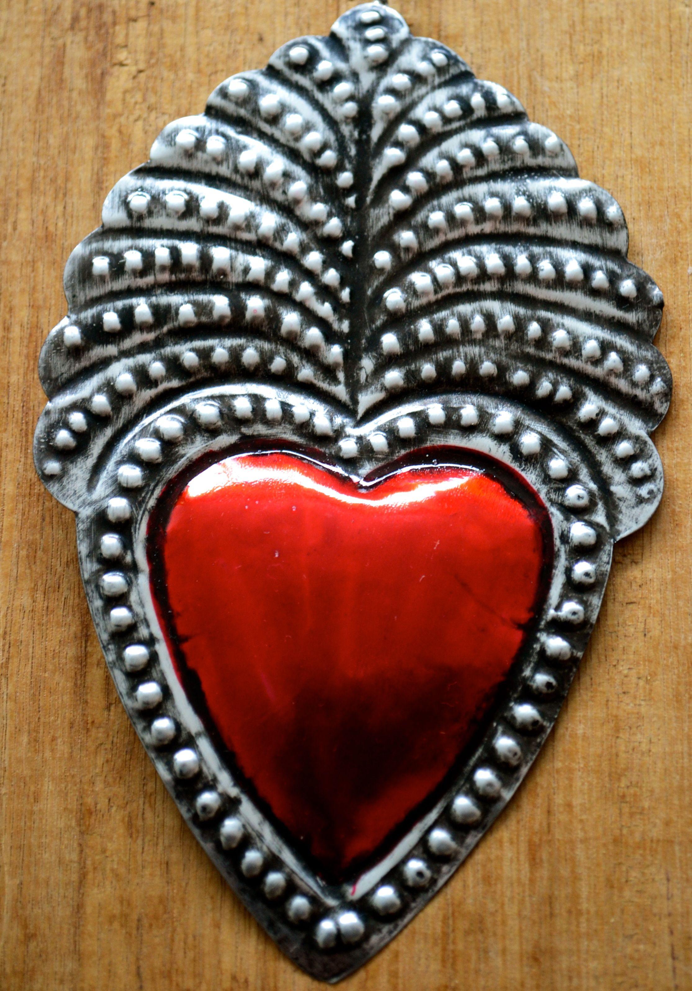 Mexican sacred heart. | Corazones | Pinterest | Mexico lindo, México ...