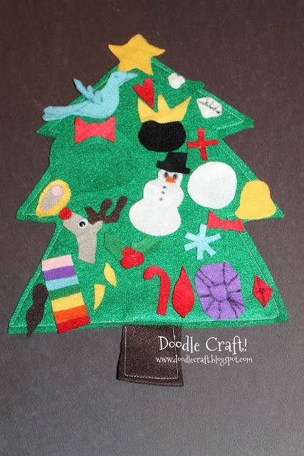Christmas in July: Felt Advent Calendar! #holidaysinjuly