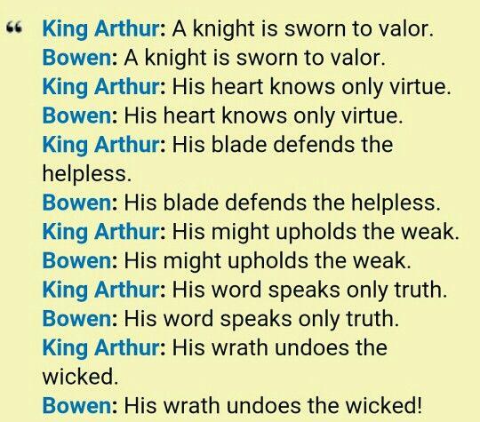 Dragonheart Oath Oath Helpless Trivia