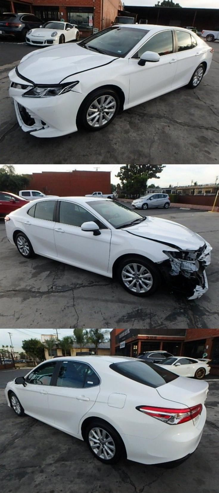 well equipped 2018 Toyota Camry LE repairable Toyota