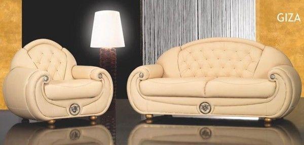 Italian Leather Sofa Sets Giza And Ramses