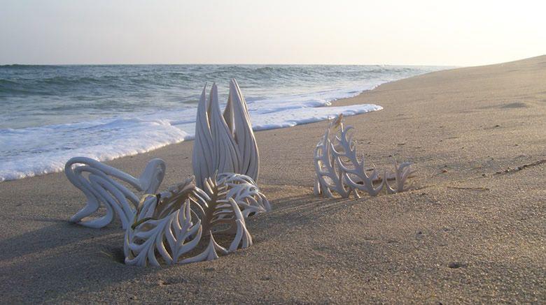 Rueda hecha a mano de cerámica de porcelana Lanzado por Jennifer McCurdy
