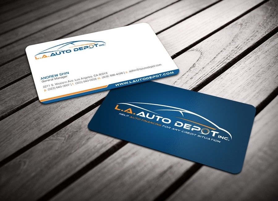 L.A. Auto Depot Inc. needs a Business Card Design by smashingbug