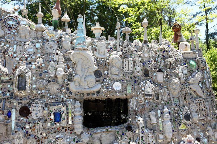 Restored Mosaic Howard Finster Pinterest Folk And Artist