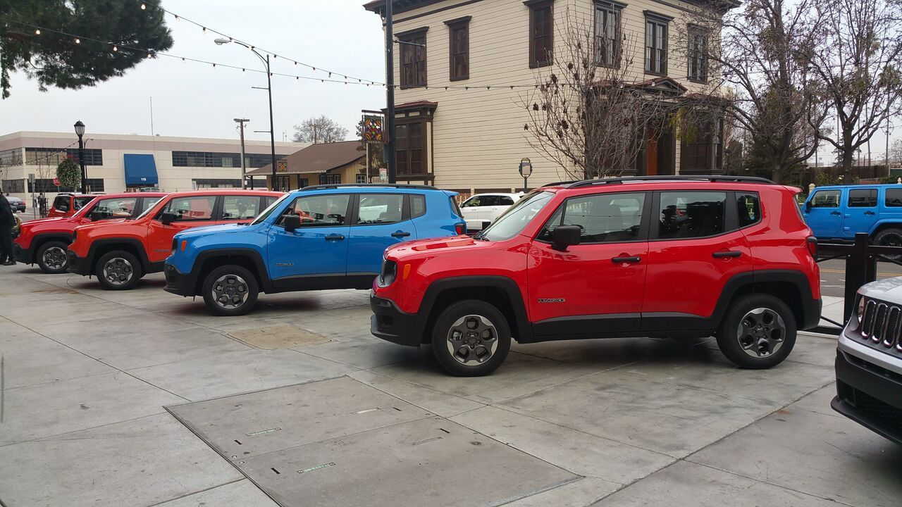 Finding Your Own Adventure The 2015 Jeep Renegade Jeep Renegade