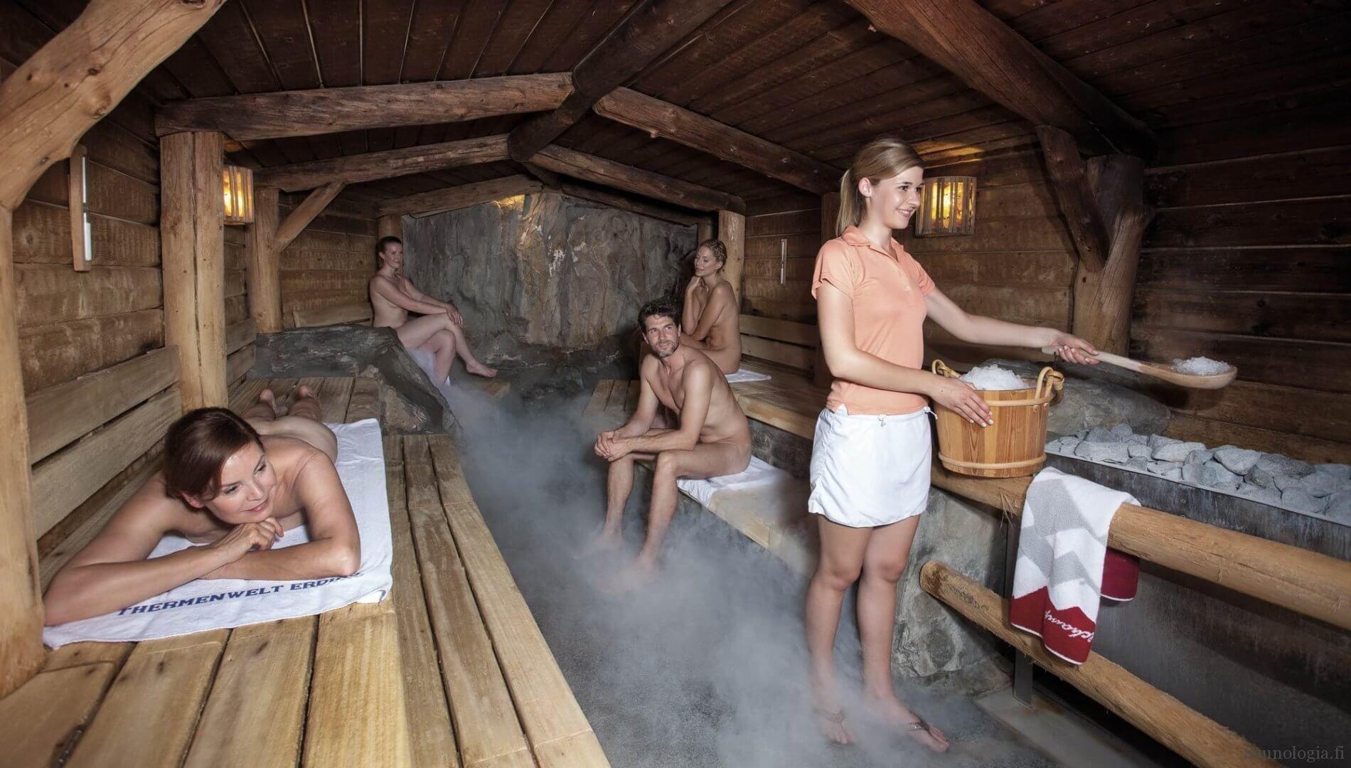 The worlds largest sauna center at Therme Erding | Sauna