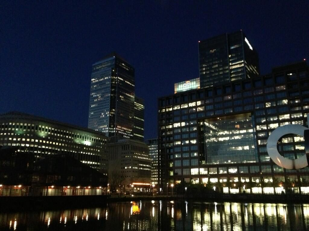 @little_lumen Canary Wharf @The ARC Show #londonlights