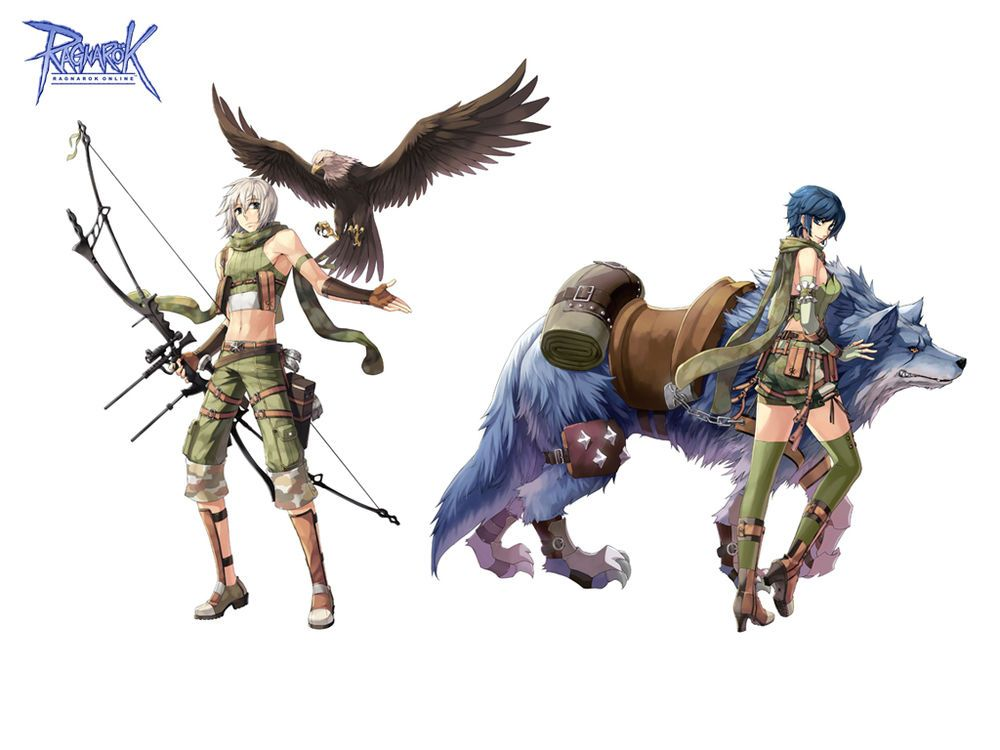Character Design Course Free : Ranger sentinelas ragnarok online third classes and