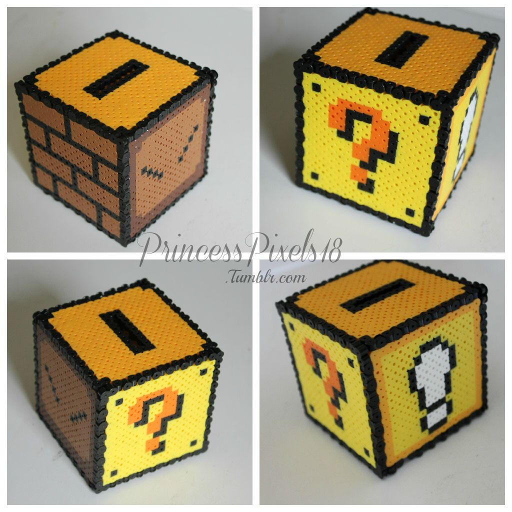 hight resolution of how to make a 3d mario coin box