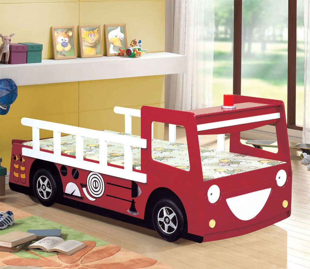 Best Train Bunk Bed Fire Engine Bed F1 Racing Car Bed Sedan 400 x 300