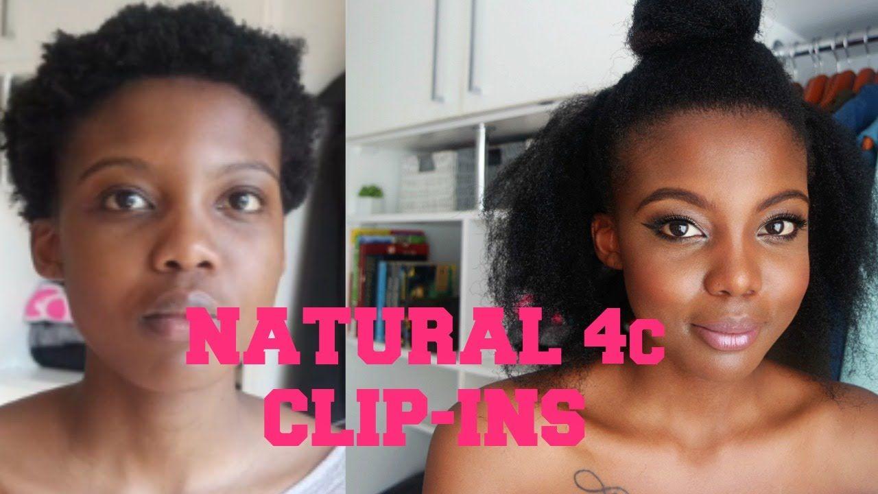 Diy natural 4c clipins twa friendly clip ins diy