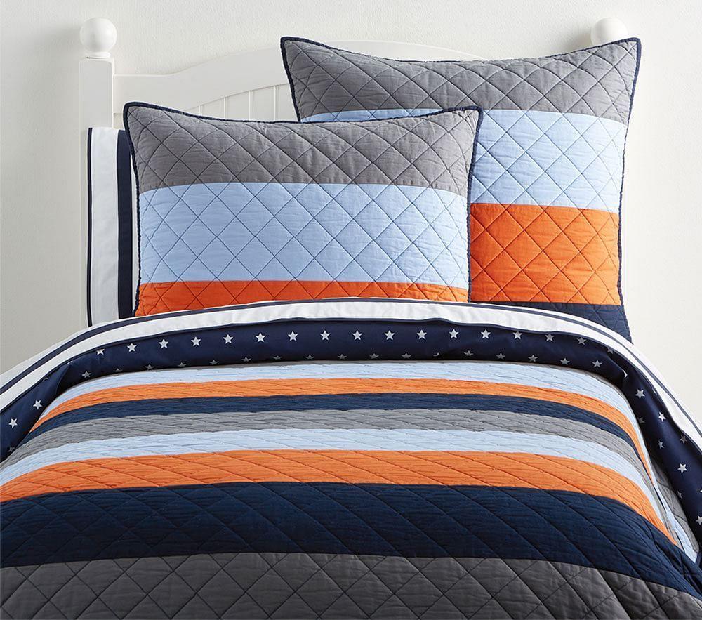 Pottery Barn Striped Bedding Bedding Design Ideas