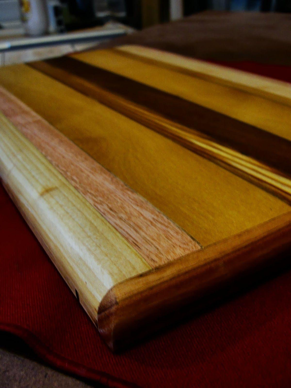 RECICLARPINTERIA Tabla de picar maderas varias | Mis trabajos en ...