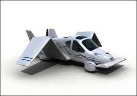 One of many car/plane hybrids with retractable wings that can commute at 4,000 feet!