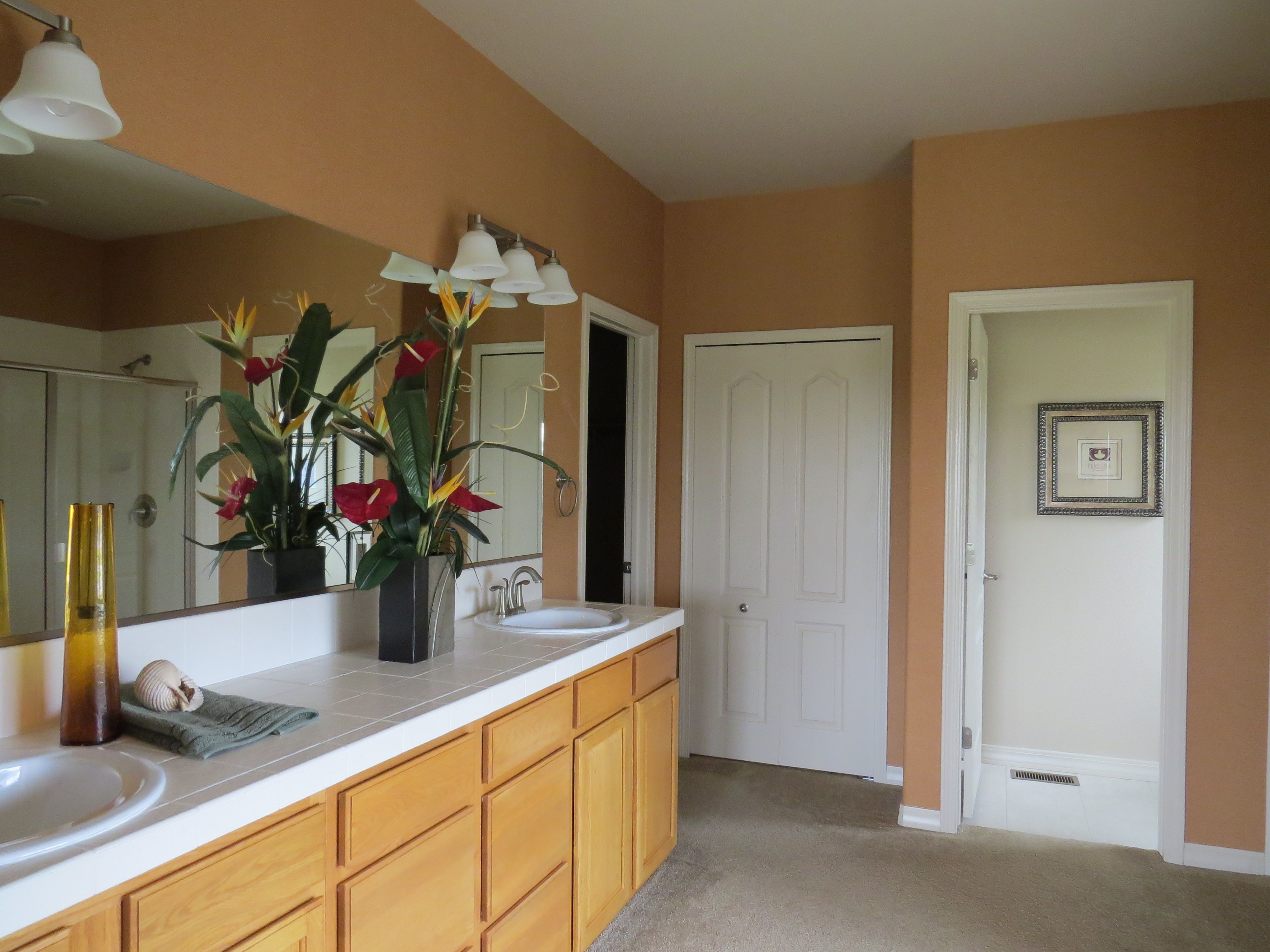 The emerson by campbell homes ranch floor plan master bath
