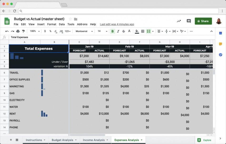 Pin On Spreadsheet Templates Free