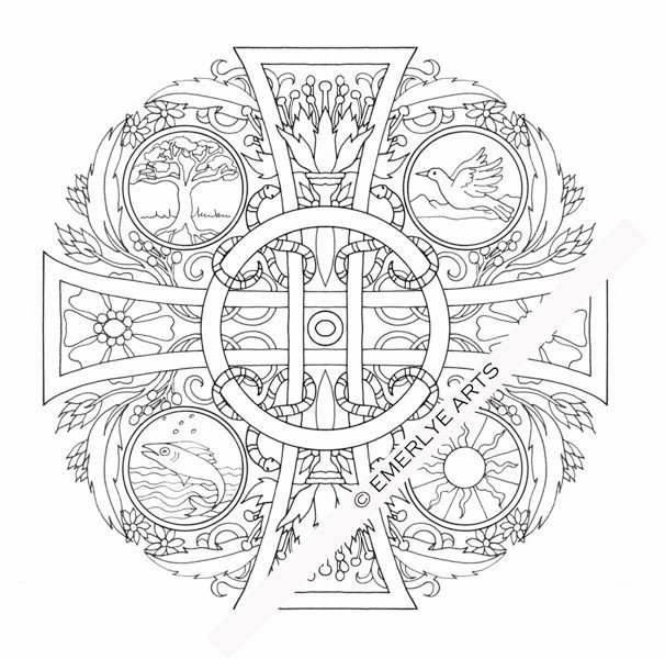 Adult Cross Coloring Pages The Old Rugged Cross Pinterest - fresh orthodox christian coloring pages