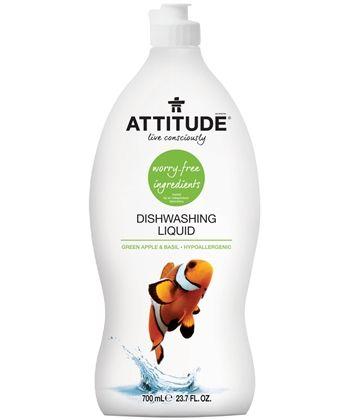Attitudeliving Dishwashing Liquid Green Apple Basil We All