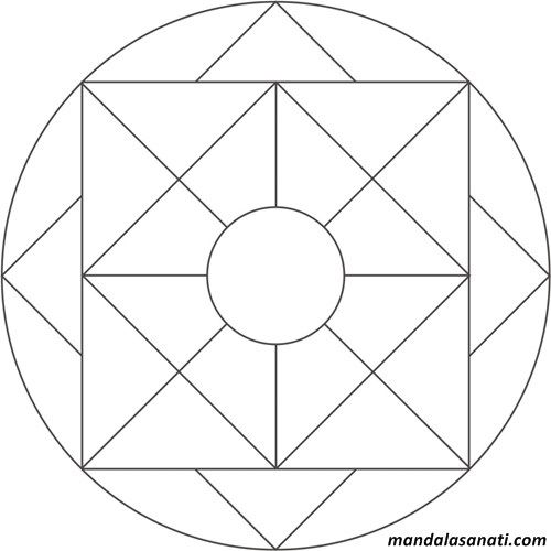 Okul Oncesi Mandala Boyama Sayili Motifler 2020 Mandala