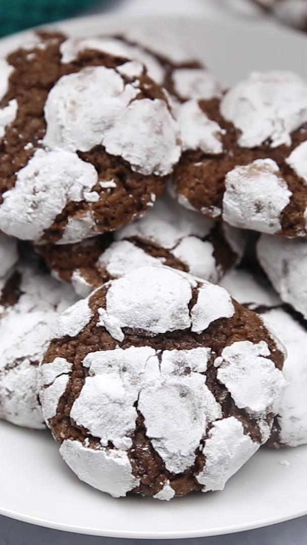crinkle cookies recept
