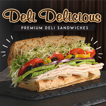 Deli Delicious Is The People S Choice Award Winner For Best Sandwich 9 Years In A Row Enjoy Amazing Food And Incredible Deli Sandwiches Sandwiches Delicious