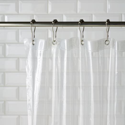 Eco Shower Curtain Liner West Elm 72 L X 71 W 9 Clean