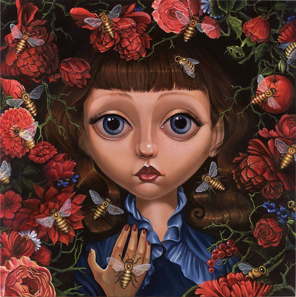 Big eyes artist surrealism pop surrealism