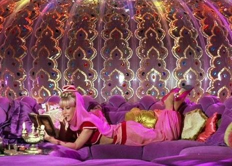 I Dream of Jeannie in Purple