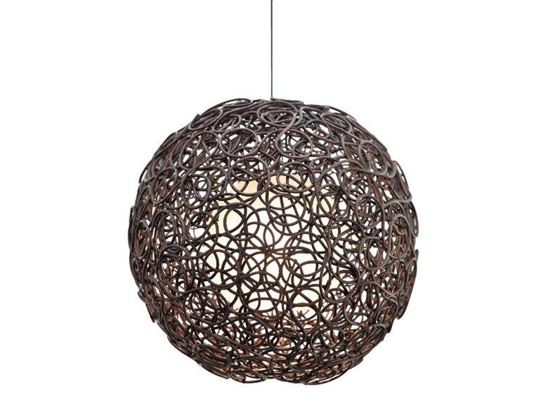 Luminária Pendente De Rattan Coleção Noodle By KENNETH COBONPUE | Design  Kenneth Cobonpue